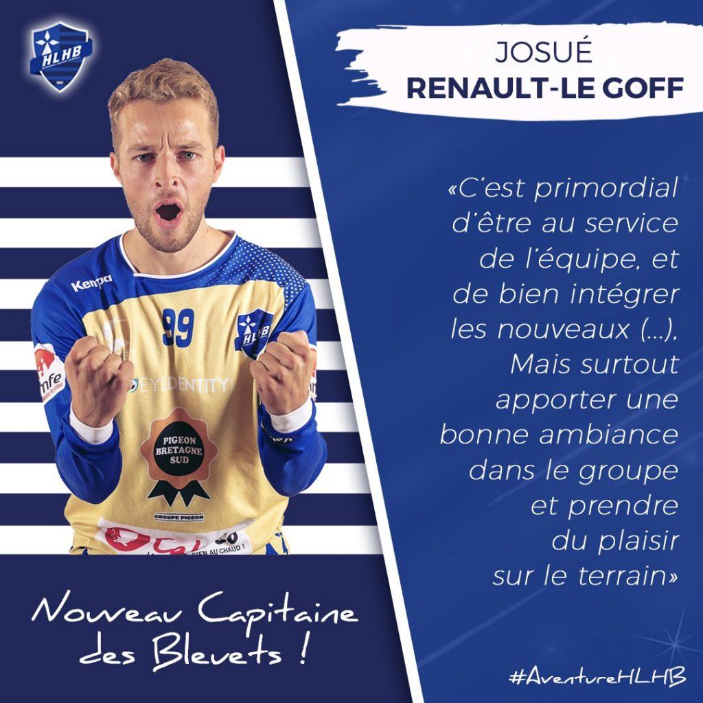 L'interview du nouveau capitaine des Bleuets