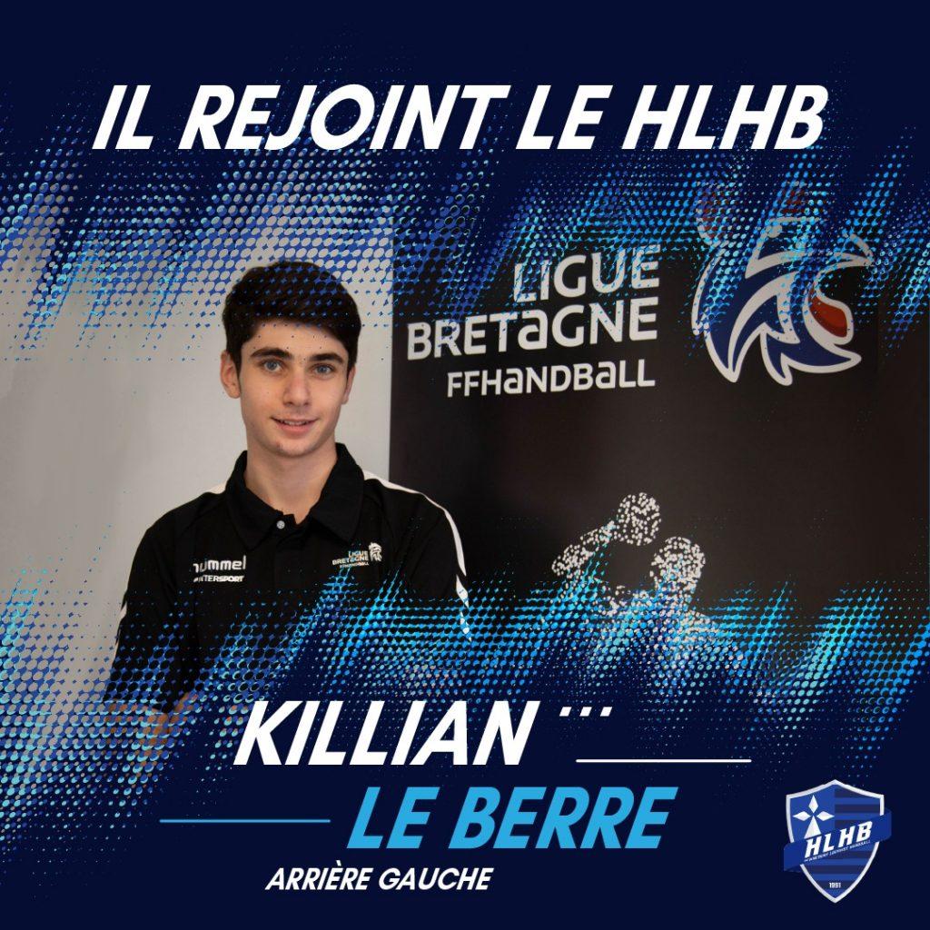 Bienvenue à Killian LE BERRE