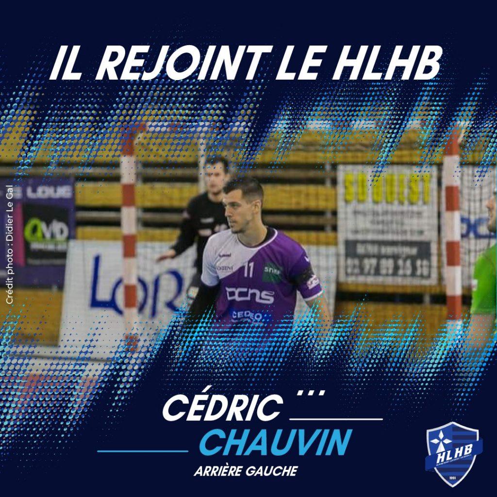 Cédric Chauvin rejoint le HLHB !