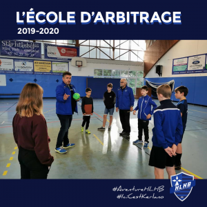L'École d'Arbitrage : Le bilan 2019-2020
