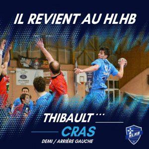 Thibault Cras revient au HLHB !